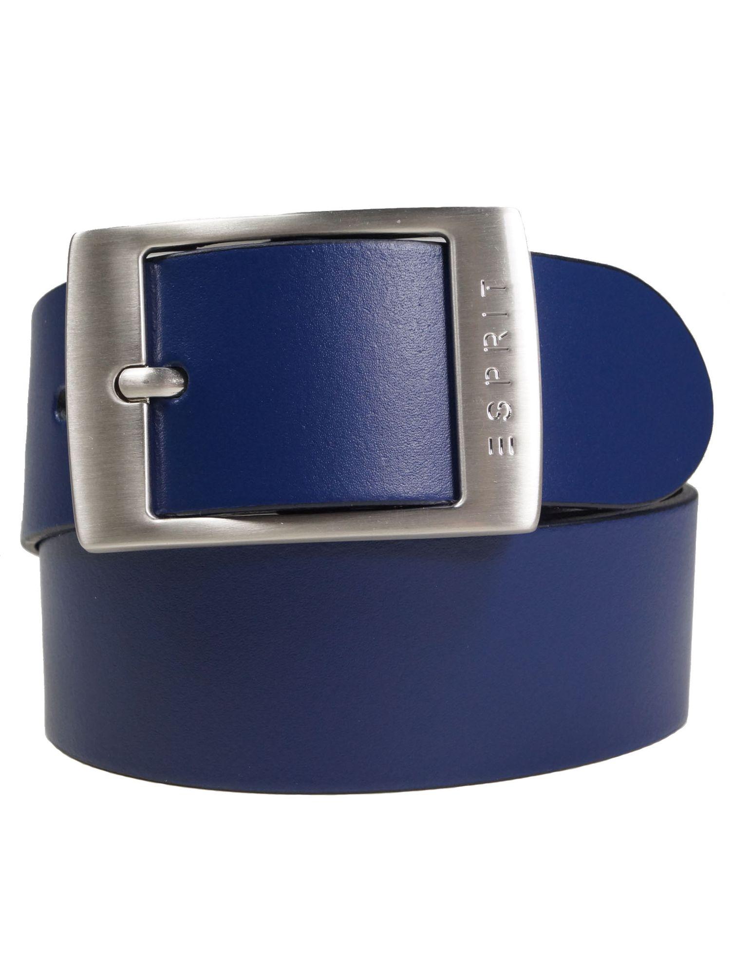 Esprit Damen Gürtel Jeansgürtel Xoctavia Leder 100cm Blau - Kaufen ... 9133b8f811