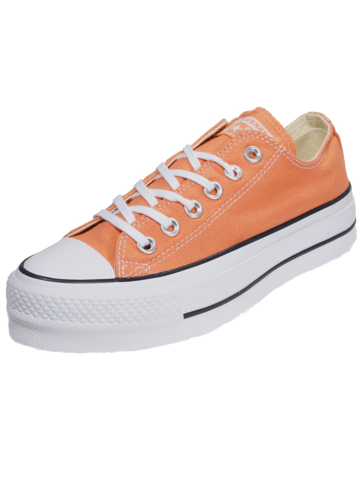 Converse Damen Schuhe CT All Star Lift Ox Orange Leinen Sneakers 37, 5