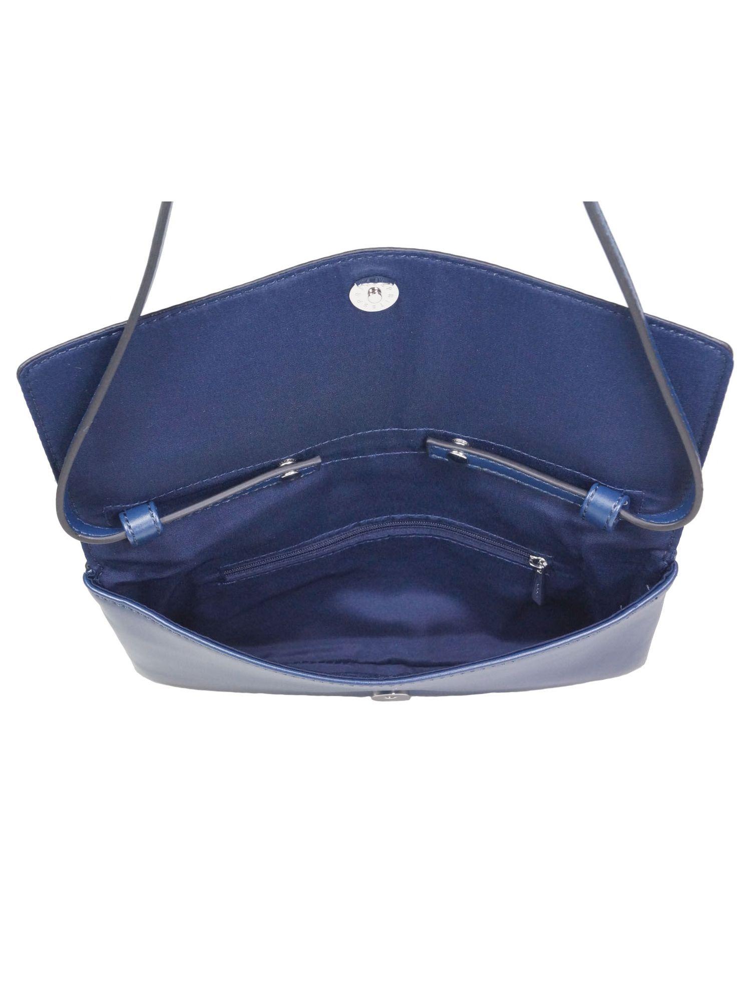 5ecbf0fcd4f04 Esprit Damen Handtasche Clutch Fay Baguette Bag Blau - Kaufen bei ...