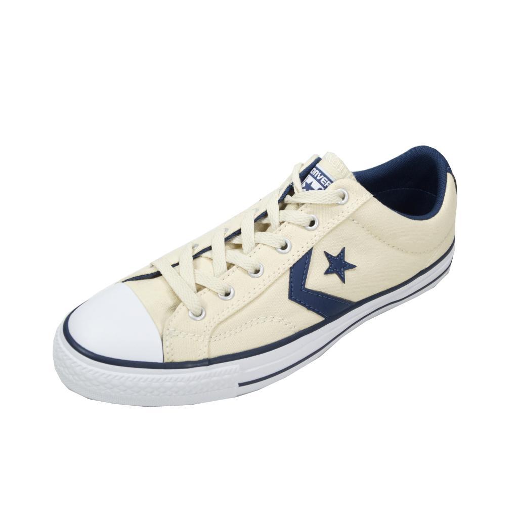 Converse Herren Schuhe Star Player Ox Beige Sneakers 43 Chucks 156620C