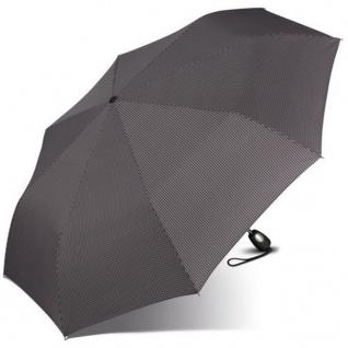 Esprit Gents Mini Tecmatic 50357 Regenschirm Taschenschirm Schwarz