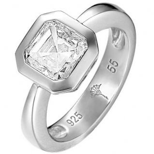 Joop JPRG90685A Damen Ring Keira Sterling-Silber 925 weiß 55 (17.5)
