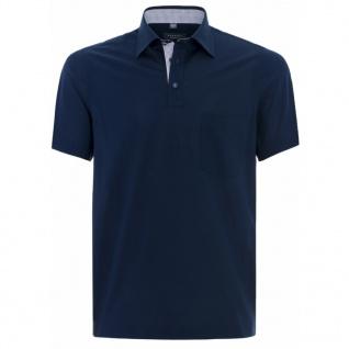 Eterna Herren Shirt Polohemd 2203/18/U577 Comfort Fit Blau Gr. XXL/46