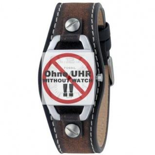 Fossil Uhrband LB-JR8130 Original Lederband für JR 8130