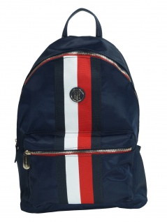 Tommy Hilfiger Rucksack Daypack Poppy Backpack 20L Blau AW0AW06861-901