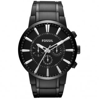 Fossil MENS OTHERS Chronograph Uhr Herrenuhr Edelstahl schwarz