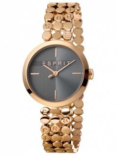 Esprit ES1L018M0055 Bliss Black Rosegold SET Damenuhr Edelstahl Rose