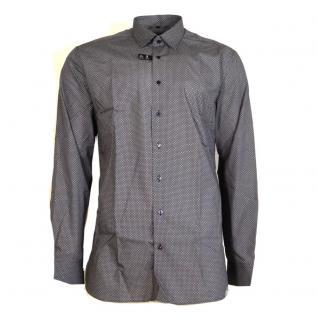 Eterna Herrenhemd Langarm Slim Fit Blau Gr. S/38 8597/19/F18B