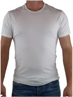 Calvin Klein Herren T-Shirt Kurzarm 2er Pack S/S Crew Neck Weiß S