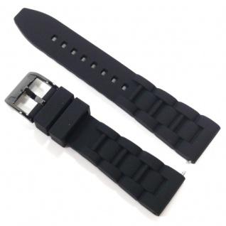 Fossil Uhrband LB-CE5004 Original CE 5004 Kautschuckband 22 mm