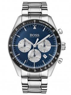 Hugo Boss 1513630 TROPY Chronograph Uhr Herrenuhr Datum Silber