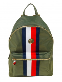 Tommy Hilfiger Rucksack Daypack Poppy Backpack 20L Oliv AW0AW07283-LFH