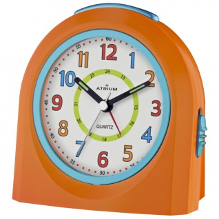 ATRIUM A921-9 Wecker Alarm Analog orange blau