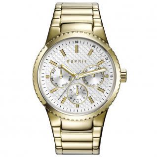 Esprit ESPRIT-TP10864 GOLD Uhr Damenuhr Edelstahl Datum gold
