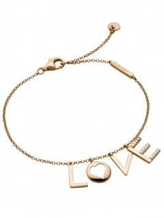 Esprit ESBR00231318 Damen Armband LOVE Amory Rose Weiß 22 cm