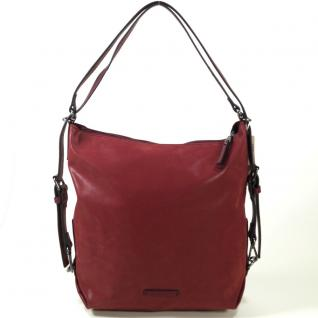 Esprit Ilka Hobo Shoulderbag Rot Handtasche Tasche Schultertasche