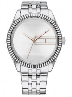 Tommy Hilfiger 1782080 LEE Uhr Damenuhr Edelstahl Silber