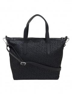 Esprit Damen Handtasche Tasche Henkeltasche Anne City Bag Schwarz
