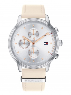 Tommy Hilfiger 1781906 BLAKE Uhr Damenuhr Lederarmband Datum Rosa