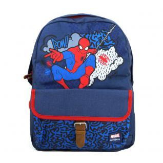 Samsonite Stylies Backpack M Marvel Spiderman Blau Rucksack Kinder 21L
