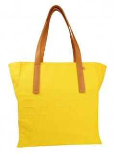 Esprit Damen Handtasche Tasche Drew Shopper Gelb 050EA1O310-750