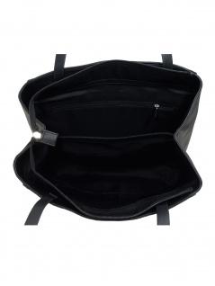 Esprit Damen Handtasche Tasche Schultertasche Alison Shopper Schwarz - Vorschau 2