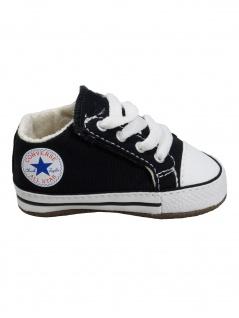 Converse Baby Kinder Schuhe CT All Star Cribster Mid Schwarz Leinen 19