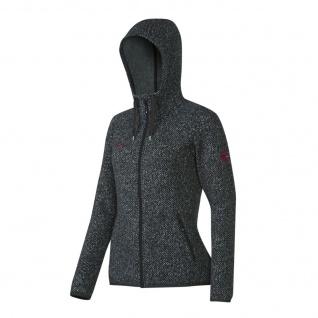 Mammut Jacke Damen Kira Tour ML Hooded Grau Funktionsjacke Fleece S