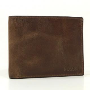 Fossil Kreditkartenetui Derrick Flip Bifold Braun ML3681-200 Herren