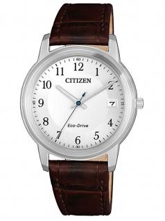Citizen FE6011-14A Uhr Damenuhr Lederarmband Datum Braun