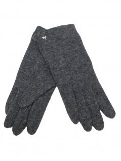 Esprit Damen Handschuhe Touchscreen Felted Gloves L Grau 099EA1R001