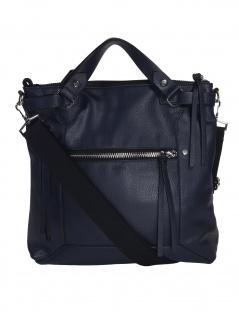 Esprit Damen Handtasche Tasche Henkeltasche Mia M tote Blau 039EA1O017