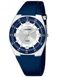 Calypso K5753/2 Uhr Herrenuhr Kunststoff blau