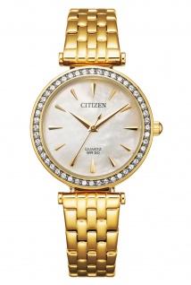 Citizen EM0212-50Y Uhr Damenuhr Edelstahl gold