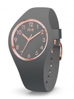 Ice-Watch 015332 ICE glam colour grey small 3H Uhr Damenuhr Grau