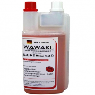 1 L Konzentrat Wawaki rot Caravan Wohnmobil Wohnwagen Glanz Reiniger