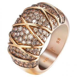 Joop JPRG90724C Damen Ring Mosaics 57 (18.1) Zirkonia