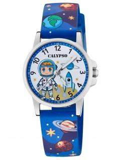 Calypso K5790/3 Astronaut Uhr Junge Kinderuhr Kunststoff blau