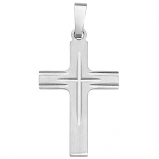 Basic Silber SKE20 Damen Anhänger Kreuz Silber