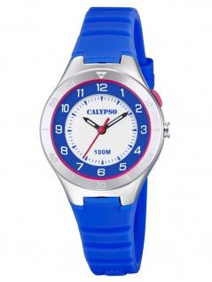 Calypso K5800/3 Uhr Junge Kinderuhr Kunststoff blau