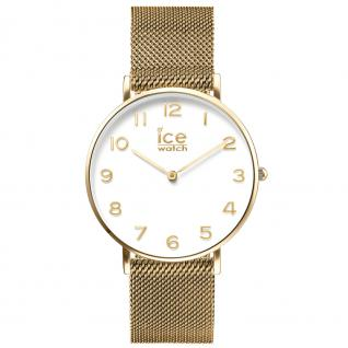 Ice-Watch 012705 CITY milanese gold shiny medium Uhr Damenuhr gold