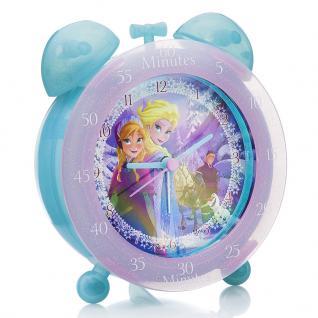Rhythm FROZ1 FROZEN Wecker Uhr Mädchen Kinderuhr Alarm Mehrfarbig