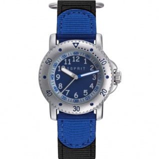 Esprit ES906694001 ESPRIT-TP90669 BLUE Uhr Junge Stoffband Blau