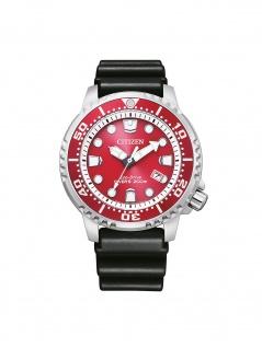 Citizen BN0159-15X Promaster Uhr Herrenuhr Kautschuk Datum schwarz