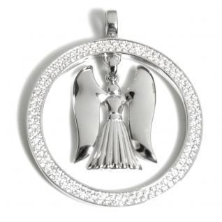 Angelsvoice AA-1009 Damen Anhänger Engel der Kraft Silber