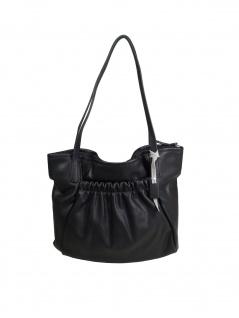 Esprit Damen Handtasche Tasche Henkeltasche Darcy Shopper Schwarz - Vorschau 1