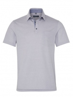 Eterna Herren Polo Shirt Kurzarm Comfort Fit Piqué Grau XXXXXL/54
