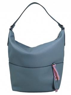 Esprit Damen Handtasche Tasche Henkeltasche Faith Hobo Blau