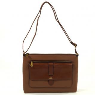 Fossil Kinley Crossbody Braun ZB6750-200 Handtasche Tasche Leder