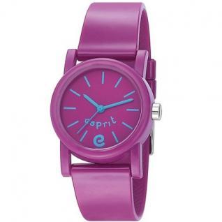 Esprit ES105324003 Kinderuhr super e purple lila Silikon 30m Uhr
